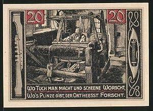 Notgeld Forst in der Lausitz 1921, 20