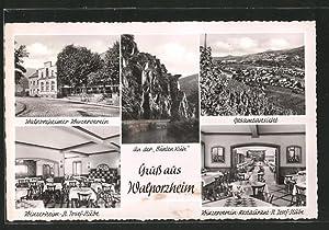Ansichtskarte Walporzheim, An der Bunten Kuh, Gasthof