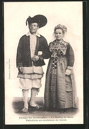 Carte postale Le Bourg-de-Batz, Pays de la