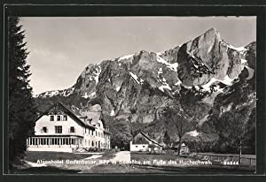 Ansichtskarte Hochschwab, Alpenhotel Bodenbauer