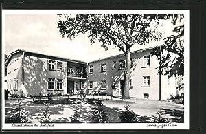 Ansichtskarte Bielefeld, Senne-Jugendheim im Eckardtsheim