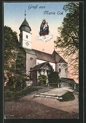 Ansichtskarte Siegsdorf, Wallfahrtsort Maria Eck