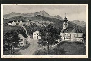 Ansichtskarte Siegsdorf, Wallfahrts-Kloster Maria Eck