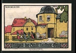 Notgeld Neustadt an der Orla 1921, 50