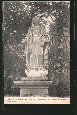 Carte postale Lumiere, Notre-Dame, La Vierge du