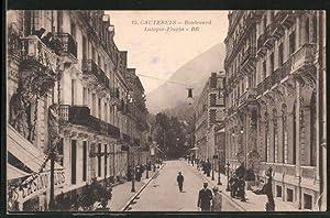 Carte postale Cauterets, Boulevard Latapie-Flurin