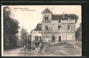 Carte postale Corneville-sur-Risle, l'Hostellerie des Cloches