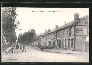 Carte postale Mailly-le-Camp, Hôtel St. Eloi, des