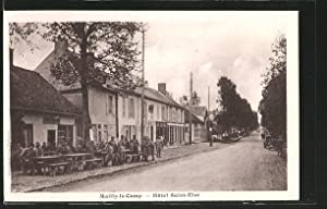 Carte postale Mailly-le-Camp, Hôtel Saint Eloi, des