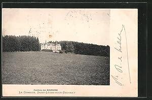 Carte postale Saint-Leger-sous-Beuvray, Chateau des Boursons