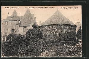 Carte postale Dol-de-Bretagne, Vieux Remparts
