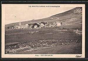 Carte postale Les Estables, vue générale