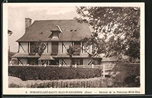 Carte postale Cormeilles-Saint-Jean-d'Asnieres, Manoir de la Fontaine-Belle-Eau