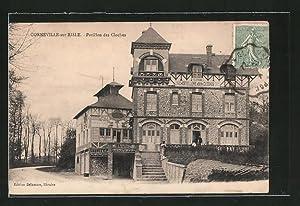 Carte postale Corneville-sur-Risle, Pavillon des Cloches
