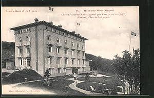 Carte postale Lozere-Gard, Grand Hotel du Mont-Aigoual,