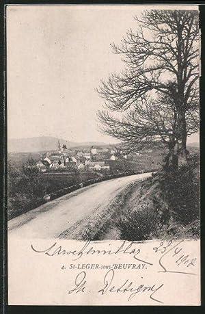 Carte postale Saint-Leger-sous-Beuvray, Vue générale