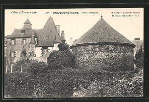 Carte postale Dol-de-Bretagne, Vieux Remparts, Le Kingo,