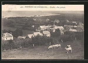 Carte postale Urville, vue générale avec les