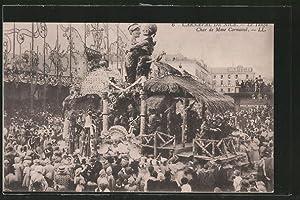 Ansichtskarte Nice, Carnaval, Le Lango, Char de