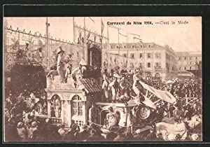 Ansichtskarte Nice, le carnaval 1924, c'est la