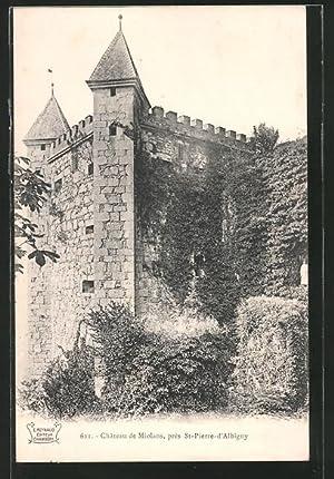 Carte postale Miolans, château