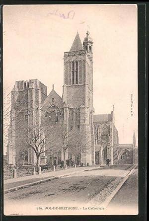 Carte postale Dol-de-Bretagne, la cathédrale