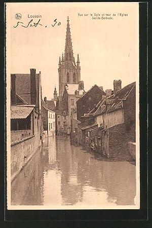 Ansichtskarte Louvain, vue sur la Dyle et