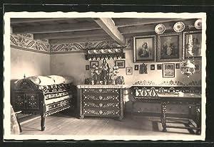 Ansichtskarte Lanzhot, Jibza, Moravske kroje
