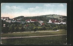 Ansichtskarte Zlatá Koruna, Ortsansicht