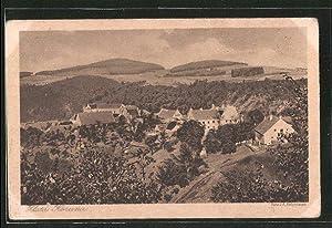 Ansichtskarte Zlata Koruna, Blick zum Ort