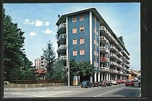 Cartolina Novate Milanese, Hochhäuser an der Matteotti