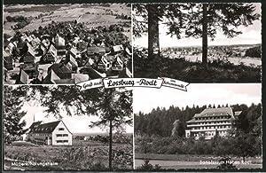 Ansichtskarte Lossburg-Rodt, Sanatorium Hohen-Rodt, Müttererholungsheim
