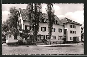 Ansichtskarte Bad Mingolsheim, Kurhaus Gantner