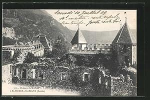 Carte postale St.-Pierre-d'Albigny, château de Miolans