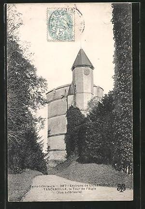 Carte postale Tancarville, la tour d'l Aigle