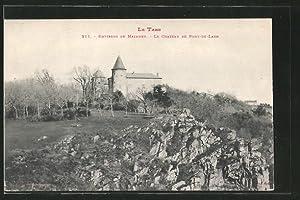 Carte postale Pont-de-Larn, le château de Pont-de-Larn