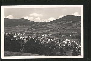 Ansichtskarte Nieder-Lindewiese, Ortsansicht