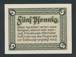 Notgeld Langewiesen in Thüringen 1921, 5 Pfennig,