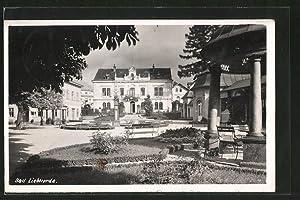 Ansichtskarte Bad Liebwerda / Lazne Libverda, Park