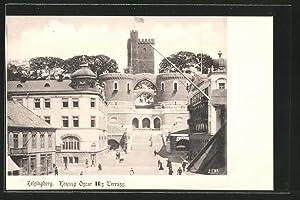 Ansichtskarte Helsingborg, Konung Oscar II:s Terrass