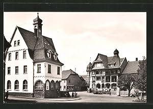 """Ansichtskarte Georgenthal, FDGB-Heim und HO-Gaststätte """"Deutscher Hof"""""""