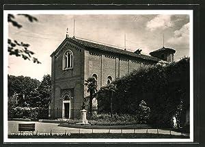Cartolina Padova, Chiesa di Giotto