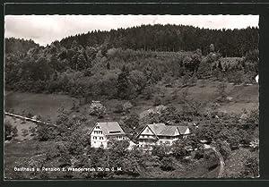 """Ansichtskarte Lautenbach, Gasthaus und Pension """"Zur Wandersruh"""","""