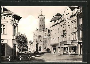 Ansichtskarte Meuselwitz, Am Rathaus