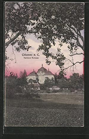 Ansichtskarte Chlumec n. C., Karlova Koruna