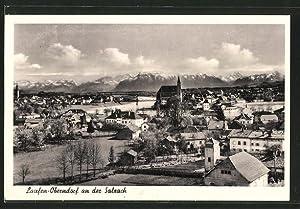 Ansichtskarte Laufen-Oberndorf, Gesamtansicht