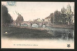Carte postale Le Puy, le Vieux Pont