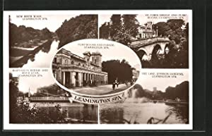 Postcard Leamington Spa, New River Walk, Victoria