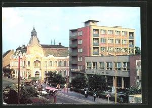 Ansichtskarte Michalovce, Hotel Jalta, Aussenansicht