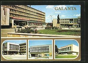 Ansichtskarte Galanta, Namestie V. I. Lenina, Administrativna